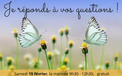 Venez à la rencontre de l'aromathérapie et naturopathie samedi 15 février