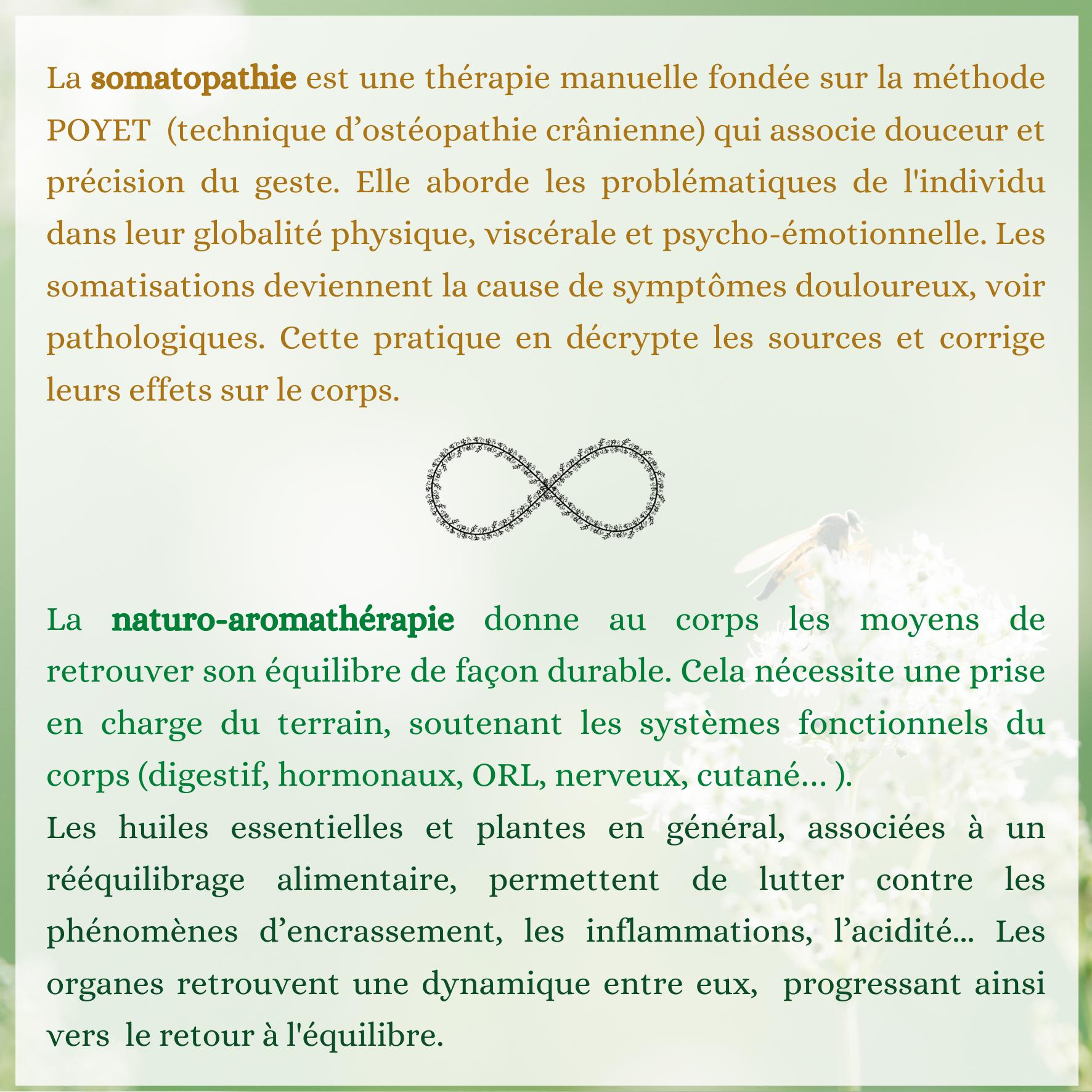 aromathérapie somatopathie